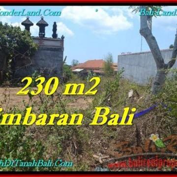 Affordable JIMBARAN 200 m2 LAND FOR SALE TJJI102