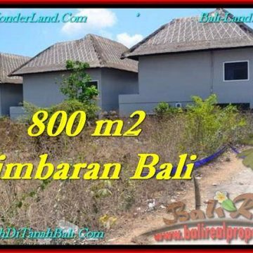 Exotic PROPERTY 800 m2 LAND IN JIMBARAN FOR SALE TJJI098
